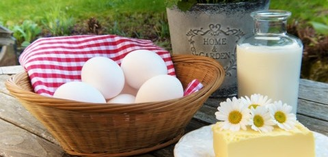 Melktap met zelfbediening – winkel gesloten – volop eieren